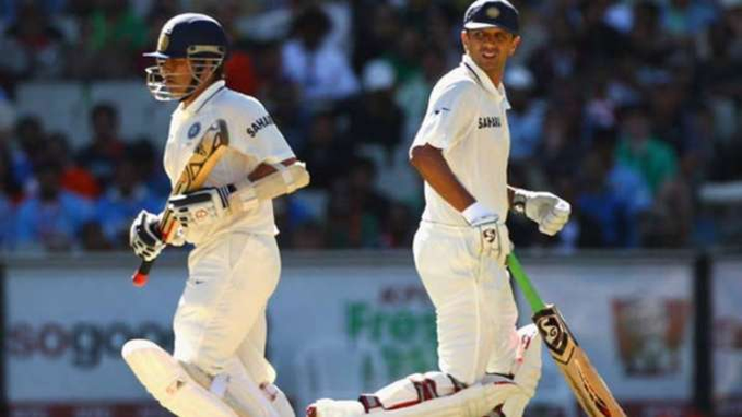 From 2002 to 2006, Rahul Dravid's overseas average was 71 while Tendulkar's was 55. (Credits: Twitter)