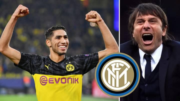 Achraf Hakimi choosing Inter Milan