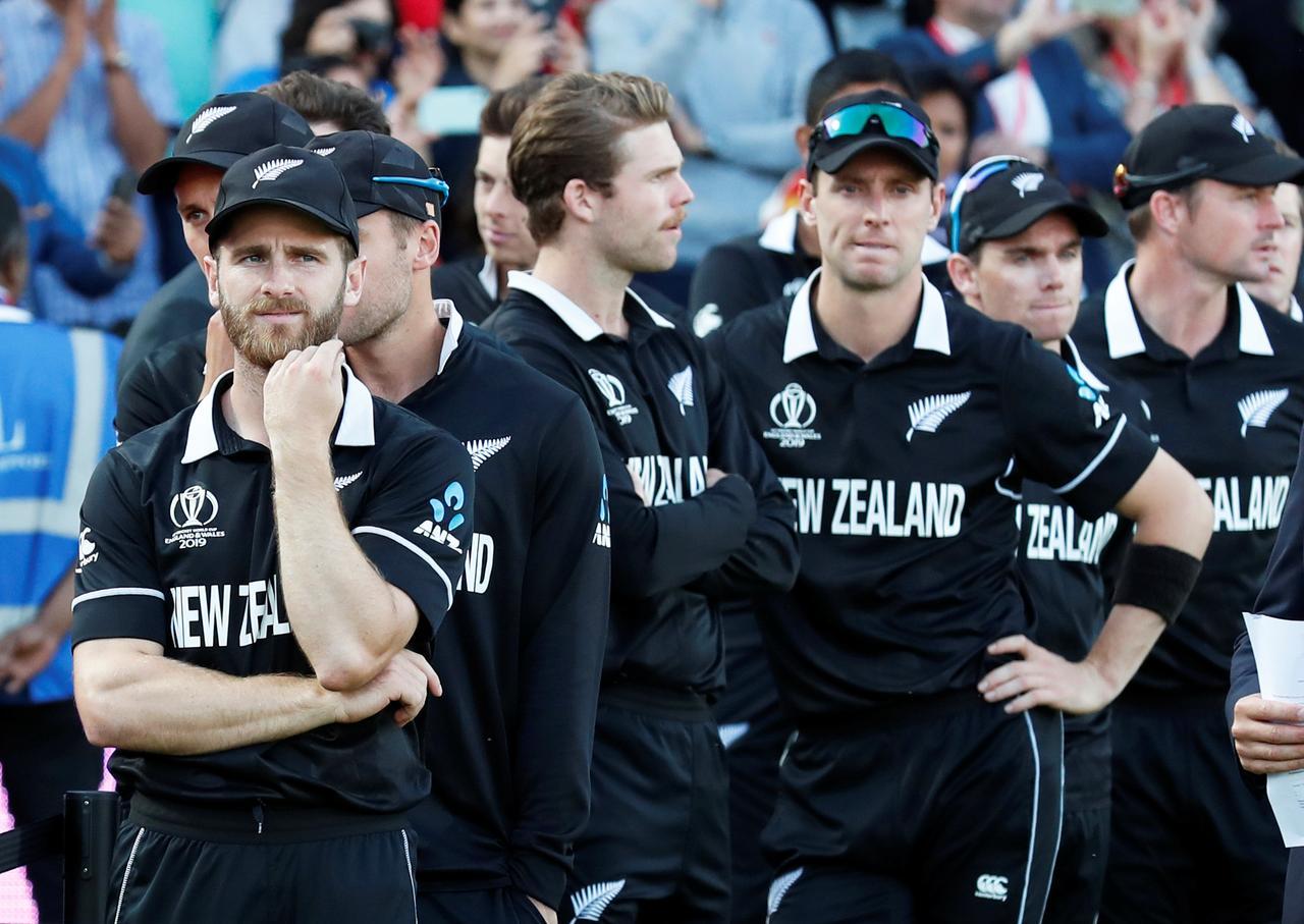 New Zealand team after 2019 World Cup Final