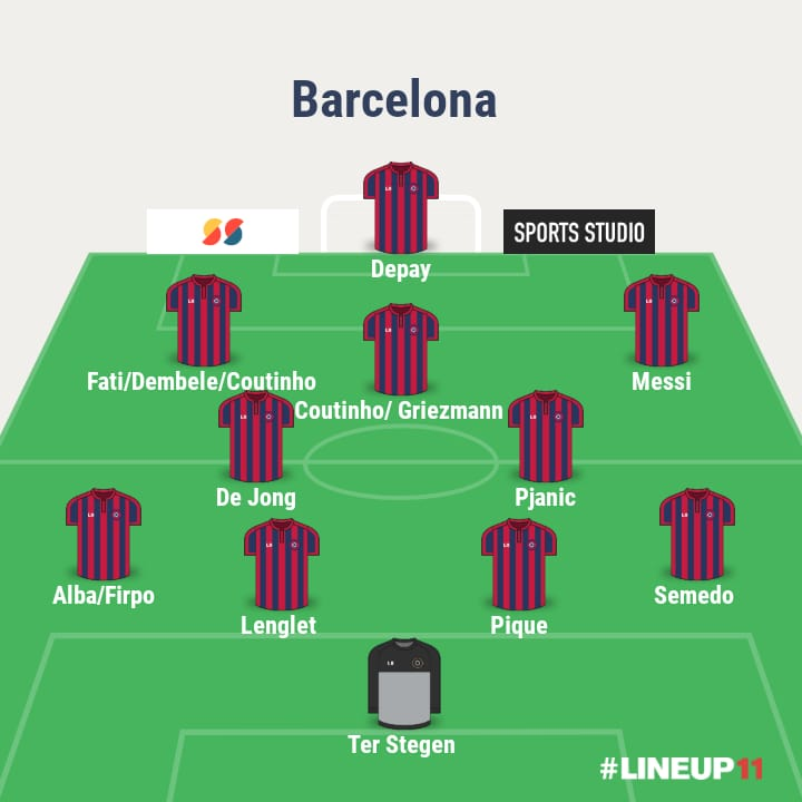 3 ways Barcelona could line up with Memphis Depay 3