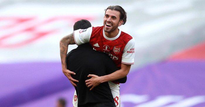 Dani Ceballos back at Arsenal
