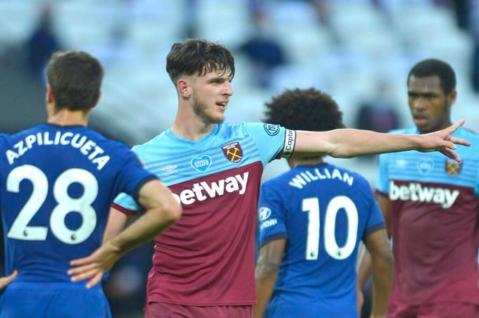 Chelsea want Declan Rice