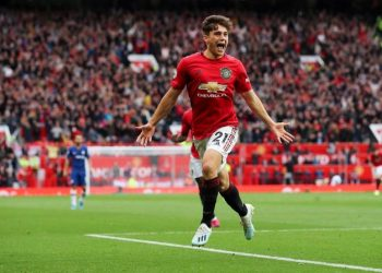 Daniel James at Manchester United