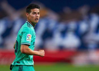 James Rodriguez will play for Everton next season