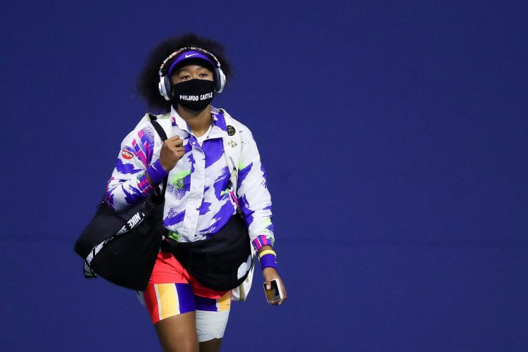 Naomi Osaka face mask