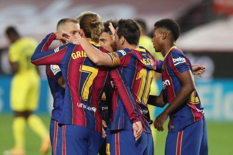 Barcelona 4-0 Villarreal