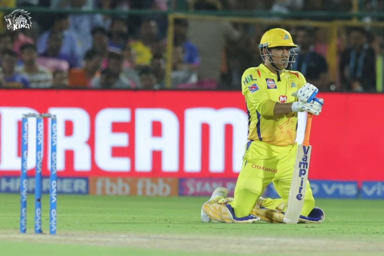 Dhoni needs to make up his mind and play more number of balls to ensure they look threatening in IPL 2020 (Credits: Twitter| Chennai Super Kings)
