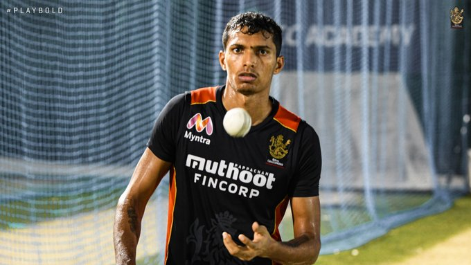Other pacers will need to support Navdeep for RCB to do well (Credits: Twitter | RCB)