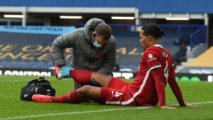Virgil van Dijk could be out for the season