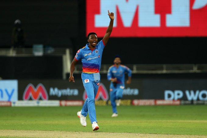 Rabada has been among wickets in IPL 2020 (Credits: Twitter | Delhi Capitals)