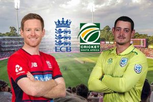 England made a clean sweep against South Africa in the 3-match T20 series. England won the first T20 by 5 wickets, the second T20 by 4 wickets and the third T20 by 9 wickets. David Malan was voted Man of the Series.