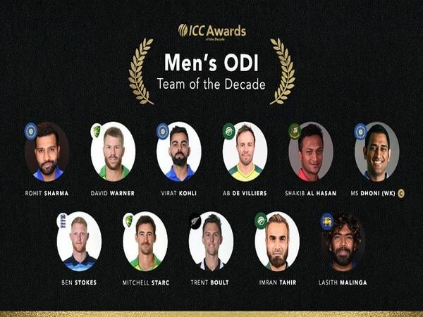 ICC ODI Team of The Decade