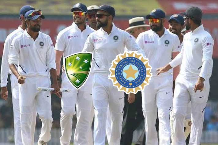 India vs Australia 1st Day Night Test