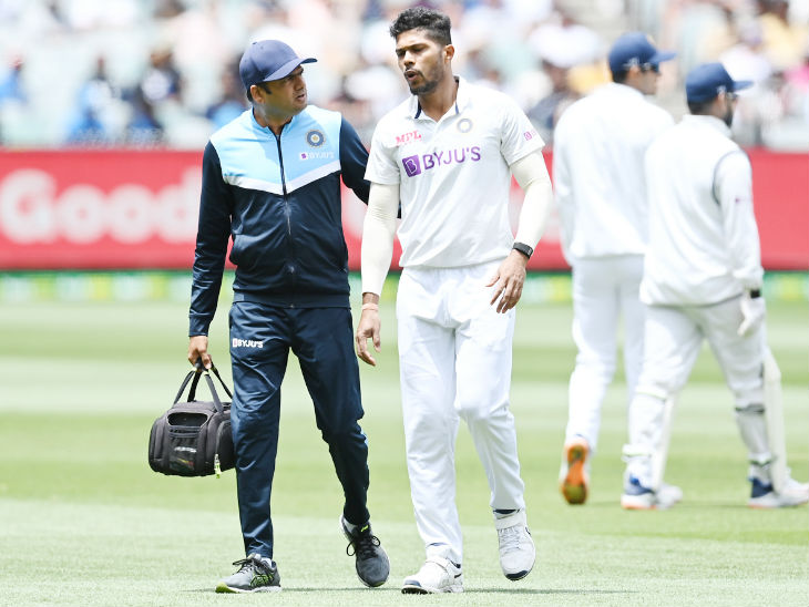 Umesh Yadav Retired Hurt in The Boxing Day Test