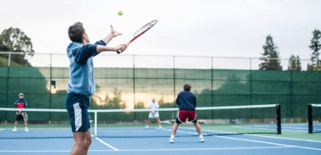 How to play tennis like a pro