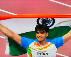Neeraj Chopra Olympics 2021